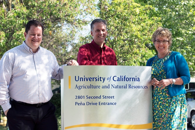 From left, Gabe Youtsey, Mike Janes and Ann Senuta form CSIT's leadership team.