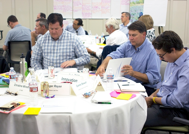 Participants identified resources available and gaps around innovation, place, talent, stewardship and engagement.