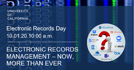 Electronic records day Oct 1