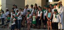 4-Hers show up in Riverside County. Photo courtesy of Jose Aguiar for ANR Adventures Blog