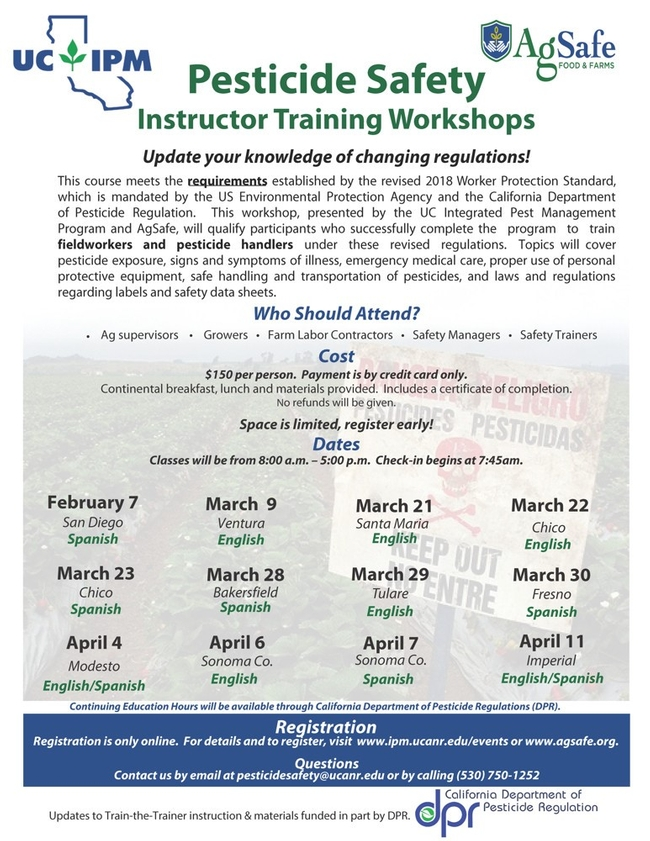 Instructor Training Program Flyer