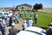 Strip Field Day at Marty Poldevarrt MTSJ Dairy, Orland, CA