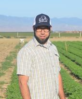 New UCD PhD student, Geoff Koch, who is working with Will Horwath on San Joaquin Valley Healthy Soils Program effort.