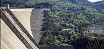 The 70-year-old Shasta Dam forms the largest reservoir in California. for Green Blog Blog