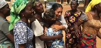 Women express their appreciation to Maria Alfaro for coming to Ebonyi State in Nigeria. for Green Blog Blog