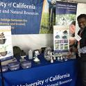 UCCE entomology and biologicals advisor Surendra Dara, shown at a display at the World Ag Expo, was the organizer of the March Ag Innovations Conference in Santa Maria.