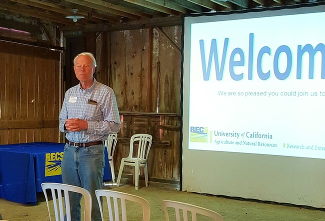 Dr. Ben Faber-UCCE Ventura County welcomes group