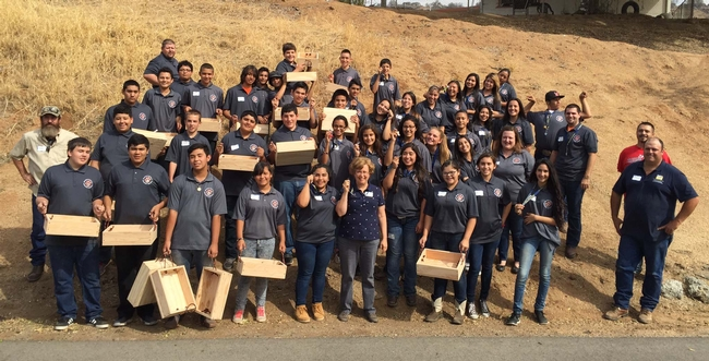 Woodlake HS Academy of Sustainable Ag and LREC instructors