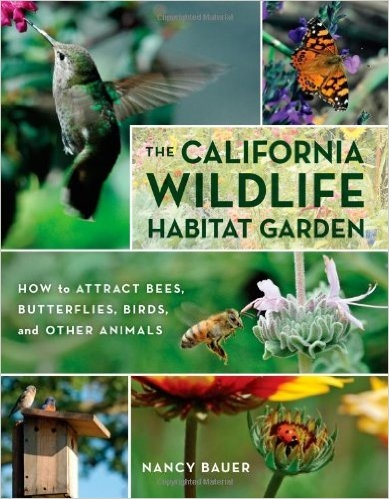 The California WIldlife Habitat Garden book cover.