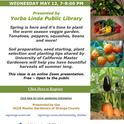 05-12 Warm Season Veggies-YorbaLinda Zoom