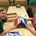 4-H Youth Enjoying Playing Games At The Dinner and Dance Hoedown