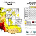 California State of the Drought as of May 31, 2016