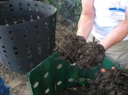 Compost is a great way to recycle organic matter back into your garden
