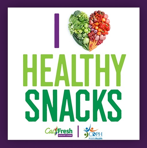 Love Healthy Snack Poster