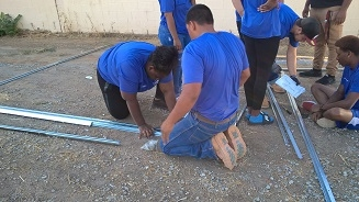 IE Job Corps youth at work