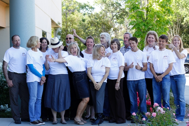 UCCE Sonoma staff - funny picture