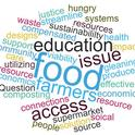 Word Map created during Food Recovery Forum