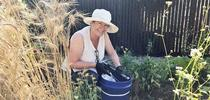 Mimi taking soil samples after 2017 fires for UCCE Sonoma Blog