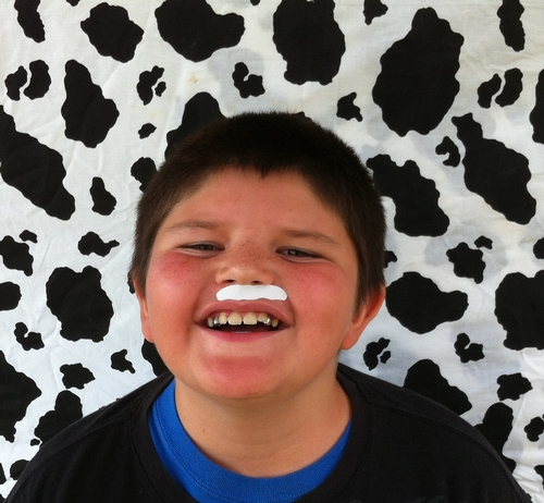 See how milk can make you smile!