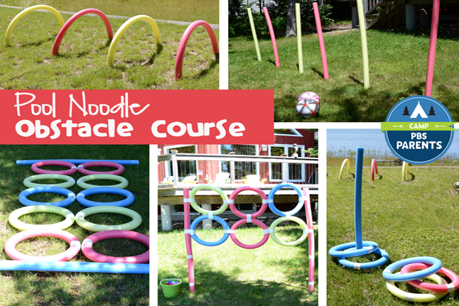 Using Homemade Obstacle Courses To Make Physical Activity
