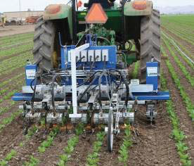 Photo 1. Robovator intelligent cultivators