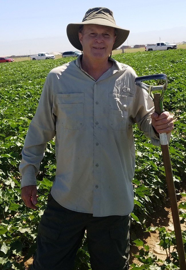 UC Cooperative Extension agronomist/weed science advisor Steve Wright