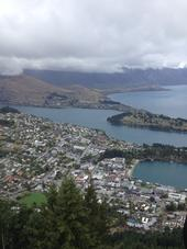 A view of Lake Wakatipu and Queenstown, the venue for the Symposium.