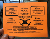 2018 Merced County UAV Flier