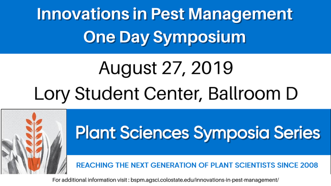 Innovation in Pest Mgmt Symposium flyer