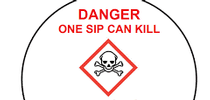 'One sip can kill