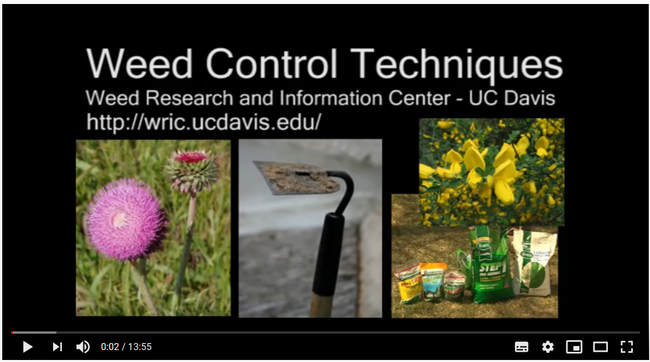 Weed Control Techniques training videos