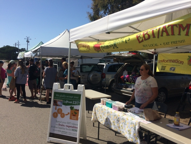 Farmers market that accepts CalFresh