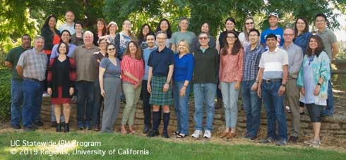 UC IPM Staff in 2018 (Credit: Marty Martino)