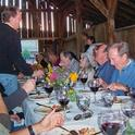 Offering dinner in a winery barn is a form of agritourism.