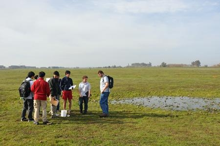 Adam Blauert took part in the California Naturalist program offered at UC Merced's Vernal Pools and Grassland Reserve.