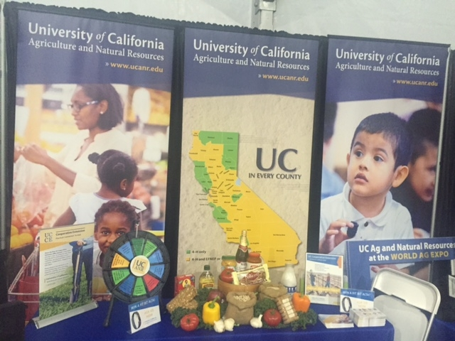 2017 marked 50 years of involvement in World Ag Expo for UC Agriculture and Natural Resources.