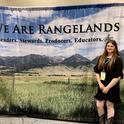 Lily Masopust at the Society for Range Management's annual High School Youth Forum in Denver.
