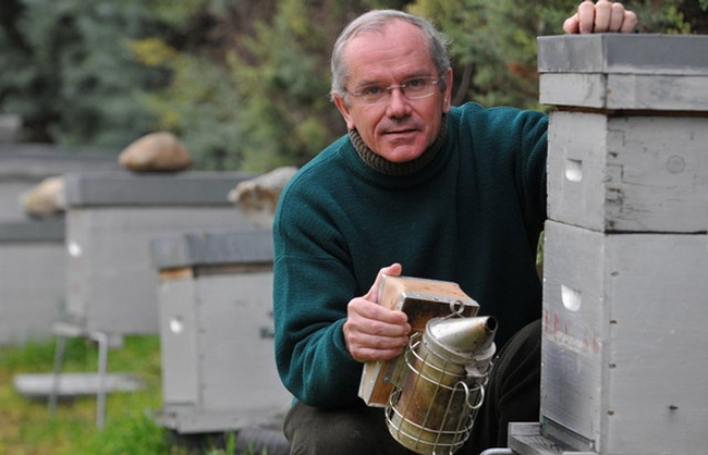 Bee scientist Yves Le Conte, director of the French National Institute for Agricultural Research, Paris, will be a keynote speaker at the UC Davis Bee Symposium on May 7.