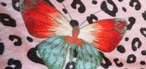 This butterfly-themed blanket is the work of Erica Lull for the
