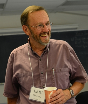 Eric Grissell at the 2007 UC Davis Entomology Alumni Reunion. He received his master's degree and doctorate in entomology from UC Davis, completing his Ph.D. in 1973. (Photo by Kathy Keatley Garvey)