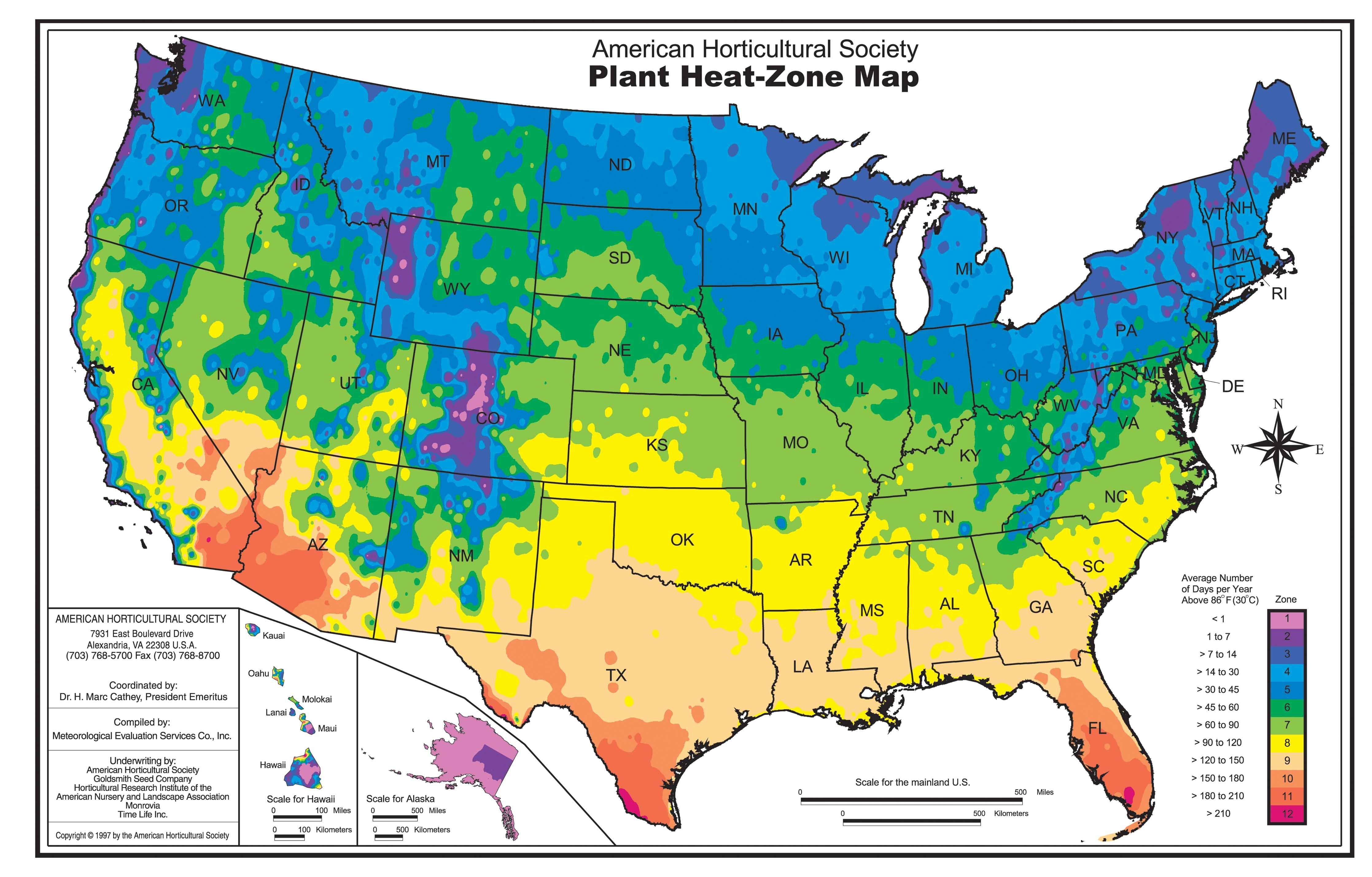 Thinking about Heat when Choosing and Placing Garden Plants - The ...