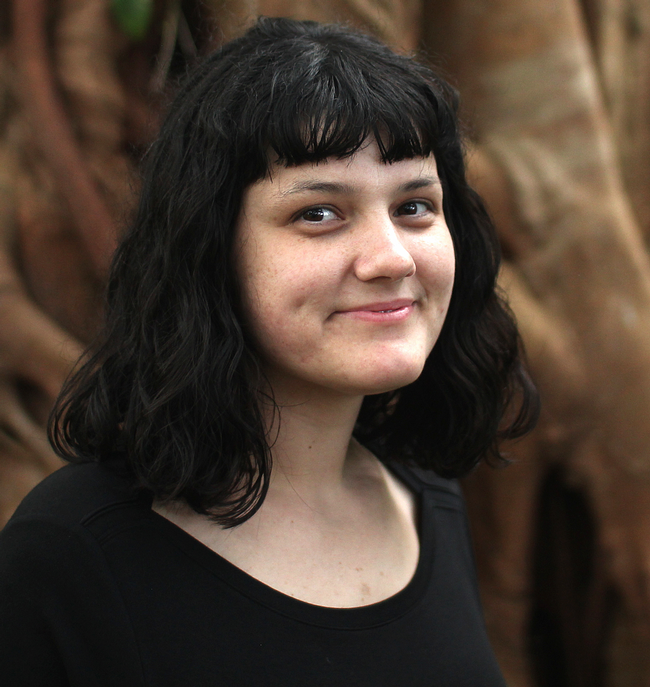 "Ciera Martinez will discuss ""The Concealed Beauty of Plant Architecture"" from 7:25 to 7:50."