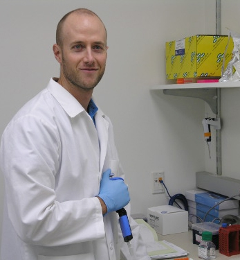 Bradley Main, postdoctoral researcher in the UC Davis Vector Genetics Lab