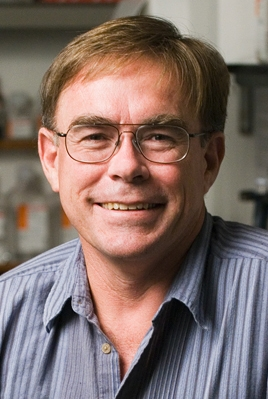 Co-author Hugh Robertson, professor University of Illinois
