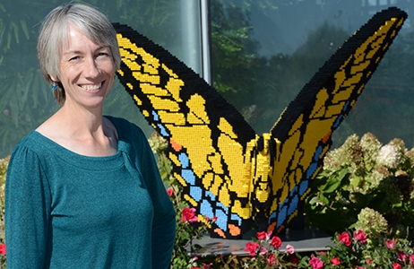 Bryony Bonning, 2020 recipient of the Entomological Society of America's Recognition Award in Insect Physiology, Biochemistry and Toxicology.