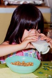 Childcare providers must serve only fat-free or low-fat unsweetened, plain milk for kids two years or older.