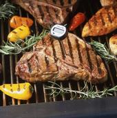 Check foods with a thermometer to be sure they are fully cooked.