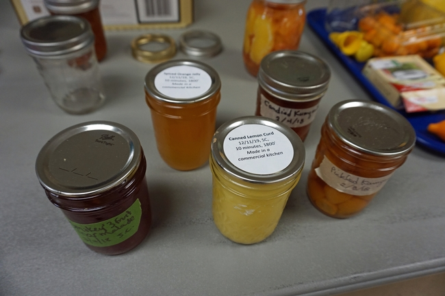 Citrus may be canned in many ways, include jellies and marmalades, pickled and sliced.