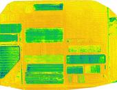 mNDGI image of a field at Desert Research and Extension Center