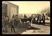 This historic photo shows a hands-on learning event for youth previously hosted at SFREC.